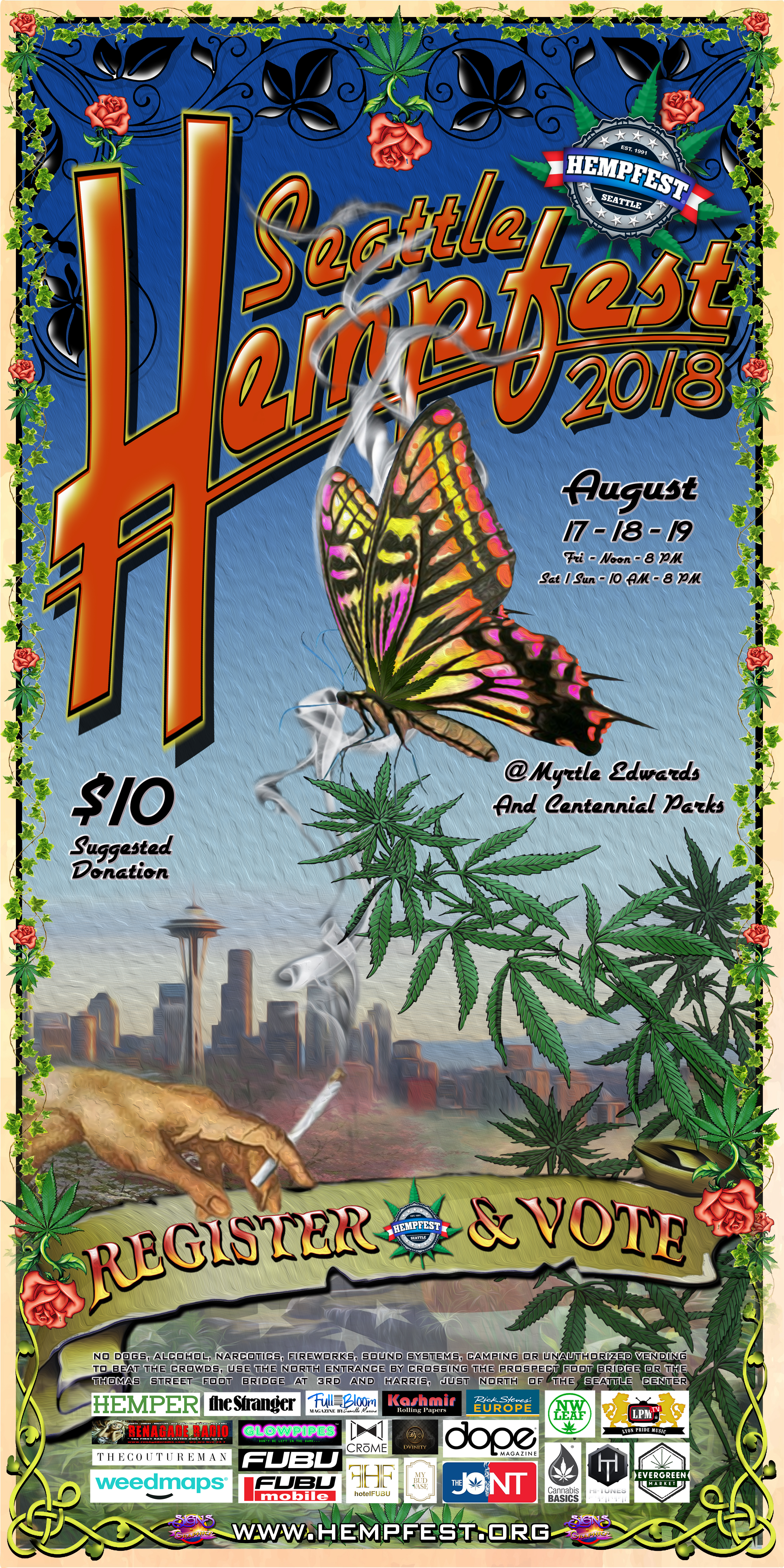 Volunteer « Seattle HEMPFEST