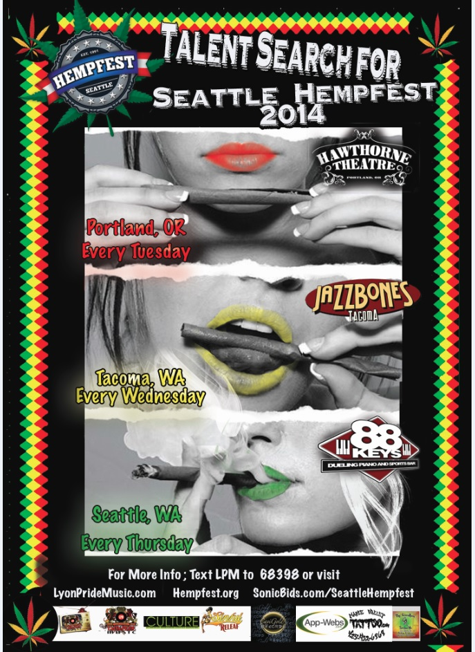 Seattle Hempfest bands