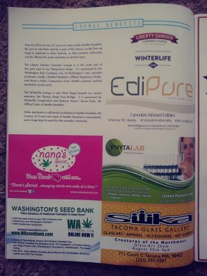 Event Program, 1/8 Page Color Ad