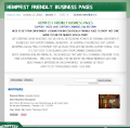 Hempfest Friendly Business Pages, Access Points