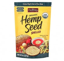 Nutivia Organic Shelled Hempseed