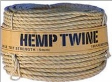 Hemp Rope, 5mm, 120 feet
