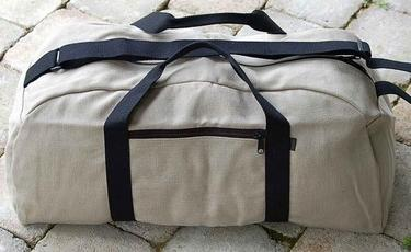 Hemp Duffle Bag