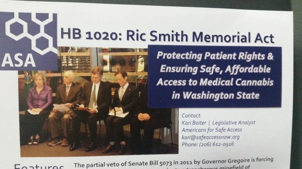 hb 1020 ric smith memorial act seattle hempfest