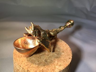 Brass Dragon Pipe