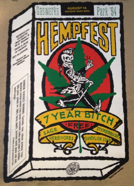 Tapestry, 1994, 7-Year Bitch on Hemp Burlap