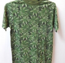 Reefer Camo, Men's Hemp Tshirt, Discontinued