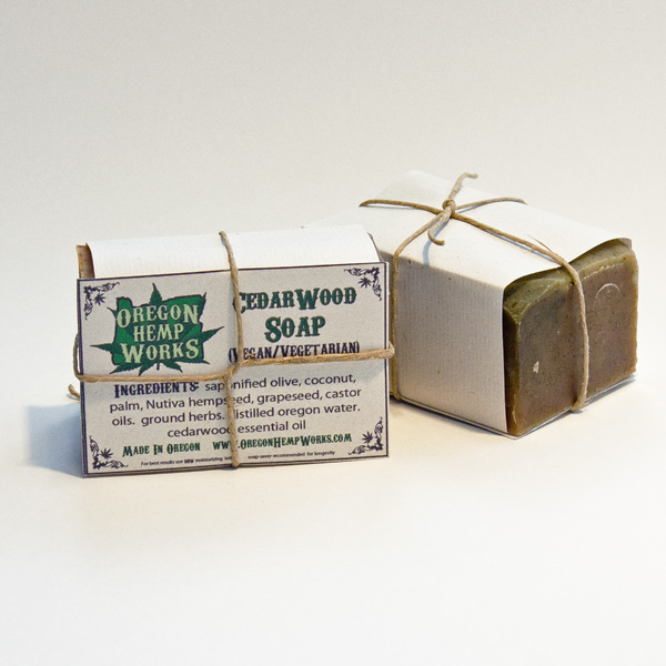 Oregon Hemp Works Bar Soap
