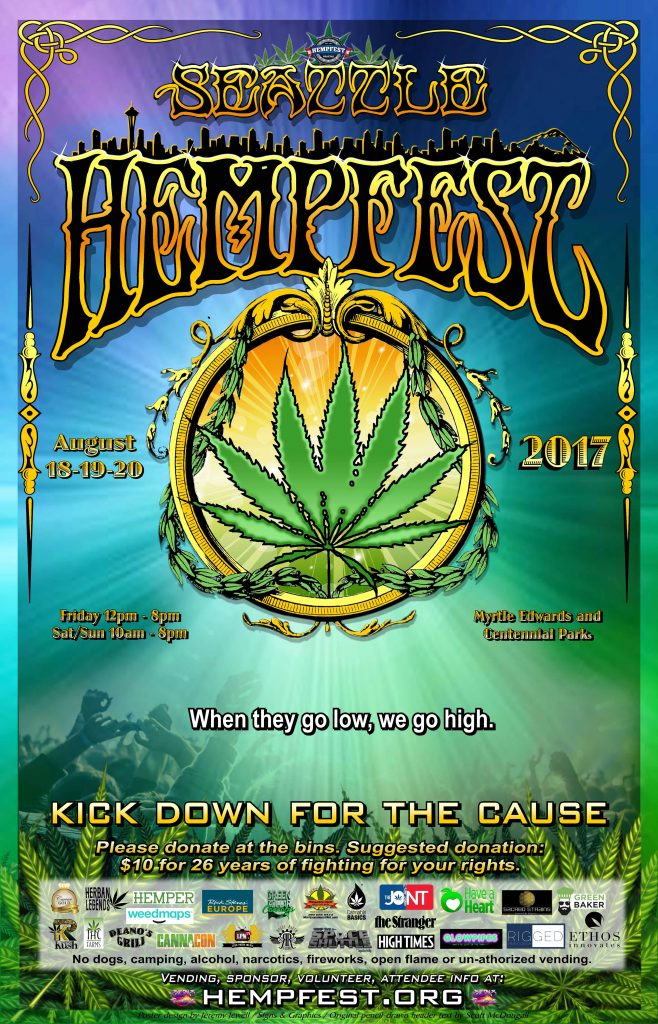 26th Annual Seattle Hempfest Program