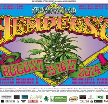Tshirt, 2014, Seattle Hempfest® Flower