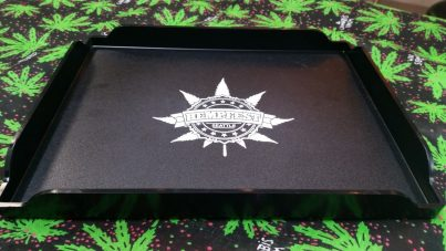 Rolling Tray with Seattle Hempfest® Logo