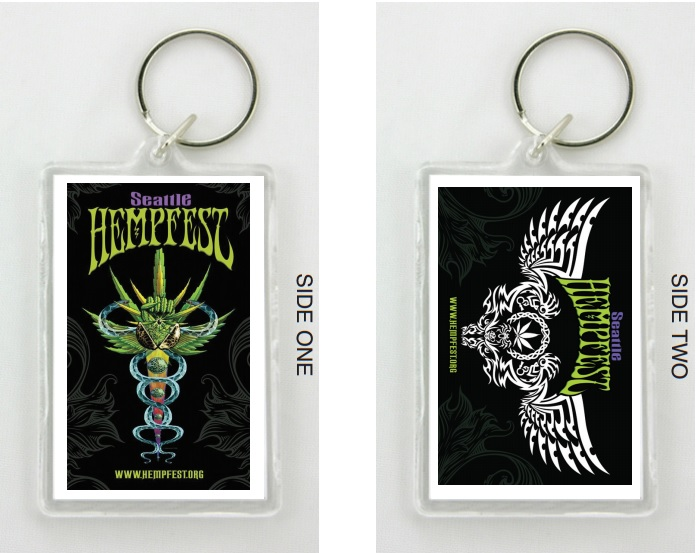 Key Chain, Seattle Hempfest®