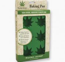 Stonerware, Silicone Baking Tray, Leaves