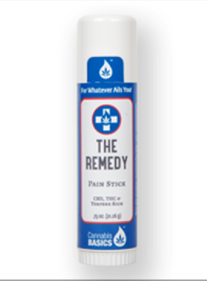 Cannabis Basics, The Remedy Pain Stick