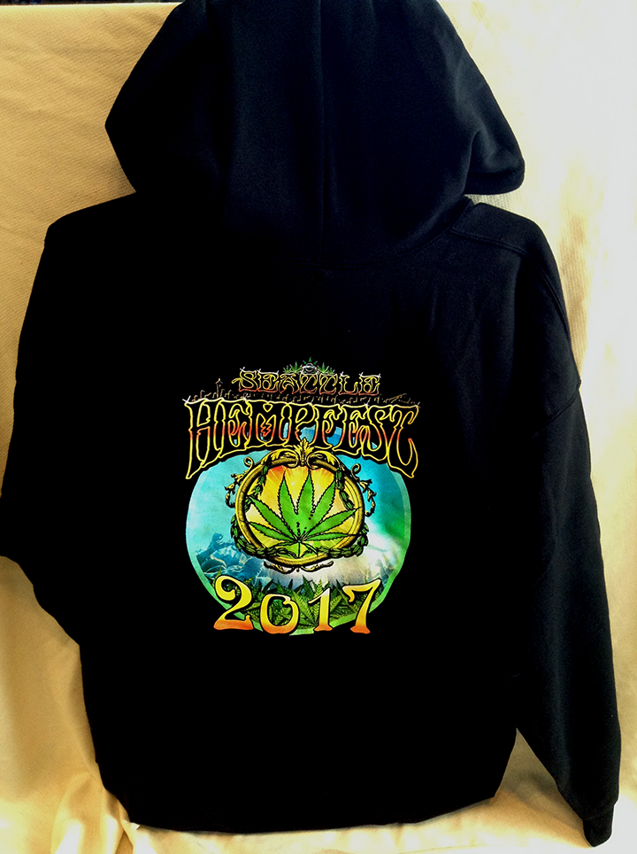 Hoodie, 2017, Kick Down For The Cause, Zipper