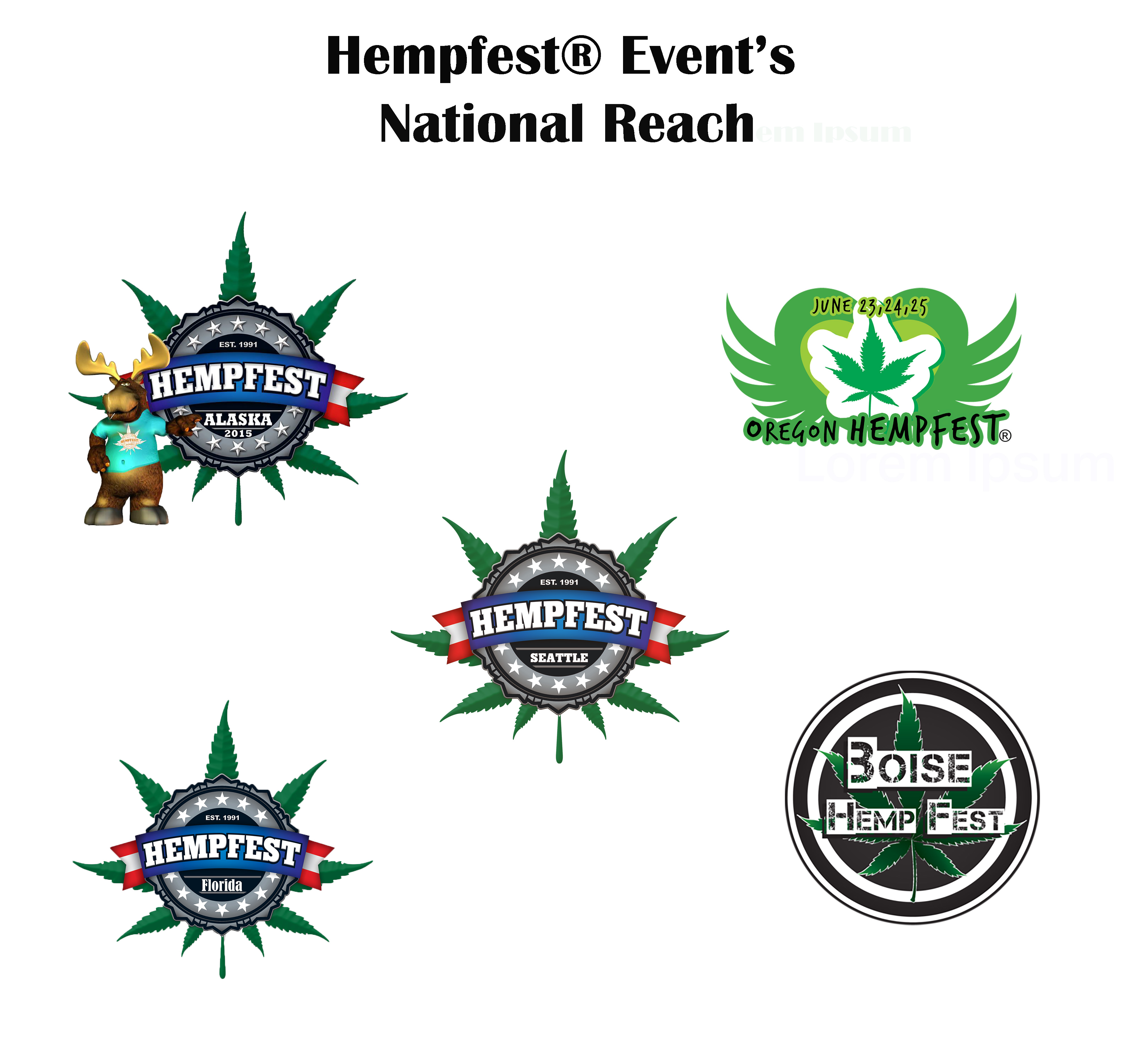 Licensed Hempfest Events