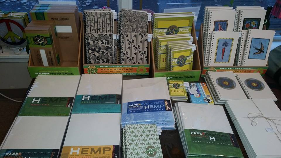 Hemp Paper Products